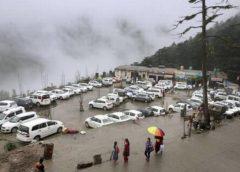 हिमाचल के 10 जिले बारिश की चपेट में, दिल्ली-NCR में भी तेज बारिज की अनुमान