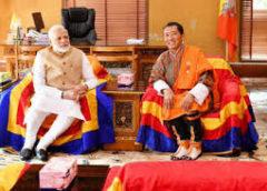प्रधानमंत्री नरेंद्र मोदी और भूटान के प्रधानमंत्री के बीच वार्ता, 10 समझौतों पर साइन
