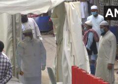 दिल्ली: निजामुद्दीन में कोरोनोवायरस लक्षण