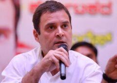 राहुल गांधी का वार- किसान सड़कों पर धरना दे रहे हैं और 'झूठ' टीवी पर भाषण